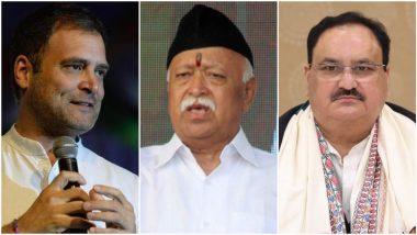 Tamil Nadu Assembly Election 2021: पोंगल सणाचे निमित्त;  राहुल गांंधी, मोहन भागवत, जेपी नड्डा यांचा तमिळनाडू दौरा, विधानसभा निवडणुकीसाठी रणनिती