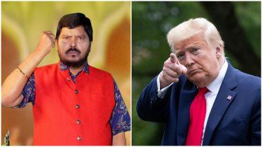 Ramdas Athawale On Donald Trump: रामदास आठवले नाराज, डोनाल्ड ट्रम्प यांना फोन करणार