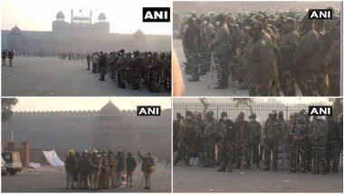 Red Fort: राजधानी दिल्ली येथे लाल किल्ला परिसरात सुरक्षा वाढवली, काही मेट्रो स्टेशन बंद; इतर ठिकाणी जनजीवन, सेवा सामान्य