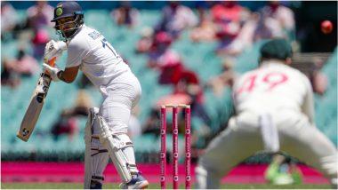 IND vs AUS 3rd Test Day 5: रिषभ पंतच्याचौफेर फटकेबाजीने SCG टेस्टरंगतदार स्थितीत, लंचपर्यंतटीम इंडियाची 205 धावांपर्यंत मजल,विजयासाठीअद्याप201 धावांची गरज