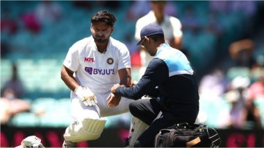 IND vs AUS 3rd Test: टीम इंडियाला मोठा धक्का, रिषभ पंत दुखापतीमुळे बाहेर पडला; रिद्धिमान साहा दुसर्या डावात करणार विकेटकीपिंग