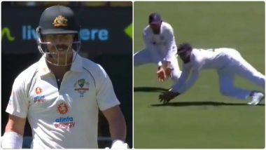 IND vs AUS 4th Test 2021: रोहित शर्माने अफलातून कॅच घेत डेविड वॉर्नरला धाडलंतंबूत, पाहून तुम्हीही म्हणाल जबरदस्त(Watch Video)