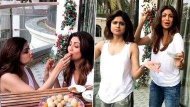 Makar Sankranti 2021: शिल्पा शेट्टी आणि बहिण शमिताने खास मराठमोळ्या अंदाजात दिल्या चाहत्यांना मकर संक्रांतीच्या शुभेच्छा, Watch Video