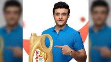 Sourav Ganguly Fortune Oil Ad: सौरव गांगूली यांच्या हृदयविकाराच्या झटक्याचा Adani Wilmar यांना धक्का, फोर्च्यून तेल संदर्भातील जाहीराती हटवल्या