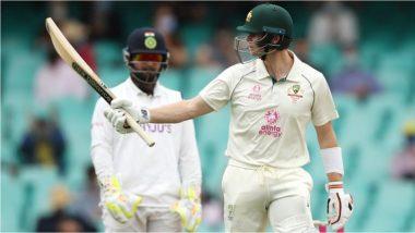 IND vs AUS 3rd Test Day 2: SCG वर स्टिव्ह स्मिथच्या अर्धशतकाने ऑस्ट्रेलिया दोनशे पार,दुसऱ्या दिवशी लंचपर्यंत कांगारू संघाचा स्कोर249/5