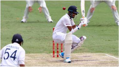 IND vs AUS 4th Test 2021: वॉशिंग्टन सुंदर-शार्दुल ठाकूरचा संघर्ष जारी, Tea ब्रेकपर्यंतभारताच्या 6 बाद 253 धावा