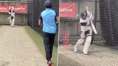 IND vs AUS 3rd Test 2021: हिटमॅन शो! ऑस्ट्रेलियामध्ये अखेरमैदानात उतरला रोहित शर्मा, सिडनी टेस्टपूर्वी नेट्समध्ये केला सराव, पहा व्हिडिओ