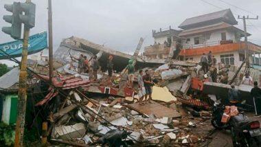 Indonesia Earthquake: भूकंपाने इंडोनेशिया हादरले; सुलावेसी बेटावर 35 जणांचा मृत्यू, 700 जखमी