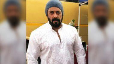 Salman Khan Shoots for Antim: 'अंतिम' चित्रपटाच्या सेटवरून लीक झाले सलमान खानचे 'हे' फोटो; पहा खास छायाचित्र