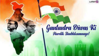 Republic Day 2021 Messages in Hindi & HD Photos: प्रजासत्ताक दिनानिमित्त WhatsApp Status, Patriotic Quotes, SMS, Greetings, Images, Wallpapers शेअर करून आपल्या मित्र-परिवाराला द्या खास शुभेच्छा!