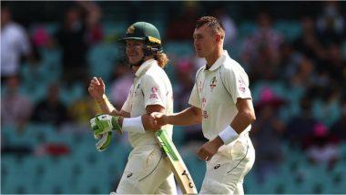 IND vs AUS 3rd Test Day 1: विलपुकोव्हस्की-मार्नस लाबूशेनने ऑस्ट्रेलियाला सावरले, Tea ब्रेकपर्यंतऑस्ट्रेलियाच्या 1 बाद 93 धावा