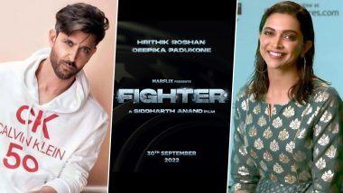 Hrithik Roshan आणि Deepika Padukone यांची प्रमुख भूमिका असलेला 'Fighter' चित्रपटाचा टीजर आला समोर, 'ही' आहे प्रदर्शनाची तारीख