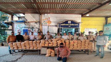 मुंबई मधील साकीनाका परिसरातून 345 किलो गांजा जप्त; एकाला अटक