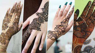 Makar Sankranti 2021Mehndi Designs: मकर संक्रांतीला हातावर काढा या सोप्या आणि आकर्षक मेहंदी डिझाईन्स