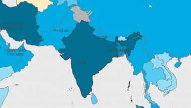 WHO च्या नकाशामध्ये जम्मू काश्मीर, लडाख दिसले भारतापासून वेगळे; वापरले दोन वेगवेगळे रंग, चहूबाजूंनी कडाडून टीका