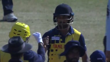 Syed Mushtaq Ali Trophy 2021:Arun Karthik याच्या मॅच विनिंग खेळीने तामिळनाडूची सलग दुसऱ्यांदा फायनलमध्ये धडक, राजस्थानवर7 विकेटने केली मात