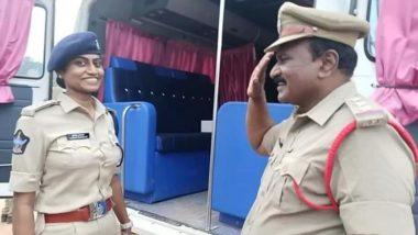 Viral Photo: DSP पदावर कार्यरत असलेल्या आपल्या मुलीला पाहून इन्स्पेक्टर वडिलांनी केला सलाम; पहा सोशल मीडियावर व्हायरल झालेला फोटो