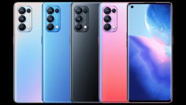 Oppo Reno 5 Pro 5G: ओप्पो कंपनीचा 'हा' धमाकेदार स्मार्टफोन उद्या भारतात होणार लॉन्च