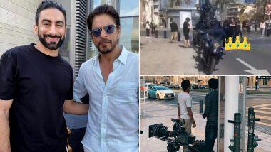 Shah Rukh Khan च्या 'Pathan' सिनेमाच्या सेटवरुन खास Photos Leak