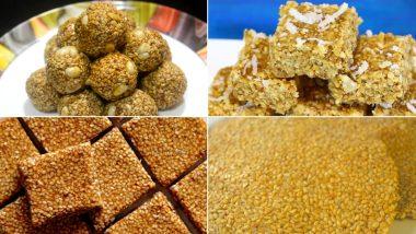 Makar Sankranti 2021 Special Recipes: यंदा मकर संक्रांतीला घरी बनवा तिळाच्या लाडूसह तिळपापडी, तिळवडी सारख्या झटपट रेसिपीज, Watch Videos