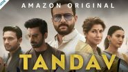 Tandav Controversy: 'तांडव' वेब सीरिजबाबतचा वाद चिघळला; निर्माते आणि अभिनेत्यांविरोधात मुंबईमध्ये FIR दाखल