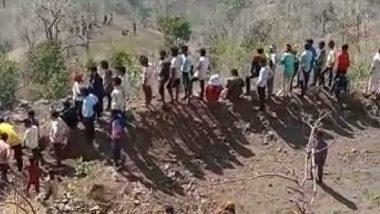 Nandurbar Accident: नंदुरबार येथील तोरणमाळ घाटात भीषण अपघात; जीप दरीत कोसळल्याने 6 मजुरांचा मृत्यू