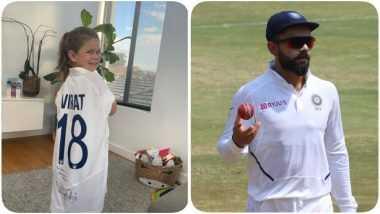 Virat Kohli Gifts To David Warner's Daughter: भारताचा कर्णधार विराट कोहलीकडून डेव्हिड वॉर्नरच्या मुलीला खास भेट; पाहा फोटो