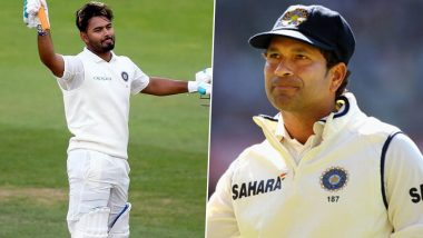 IND vs ENG 1st Test 2021: पुढील सचिन तेंडुलकर! Rishabh Pant याची 'या' कारणामुळे होत आहे मास्टर-ब्लास्टरशी तुलना, पहा Tweets