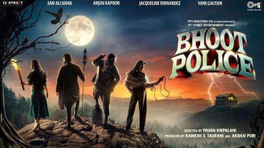 Bhoot Police Poster: सैफ अली खान, अर्जून कपूर यांची प्रमुख भूमिका असलेल्या 'भूत पोलिस' चित्रपटाचे पोस्टर आले समोर, 'या' दिवशी होणार सिनेमा प्रदर्शित