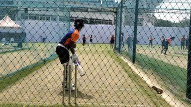 IND vs ENG 1st Test 2021: अजिंक्य रहाणेने कसली कंबर, इंग्लंडविरुद्ध Chennai टेस्टपूर्वी नेट्समधील तुफान बॅटिंगचा Video मिस करू नका