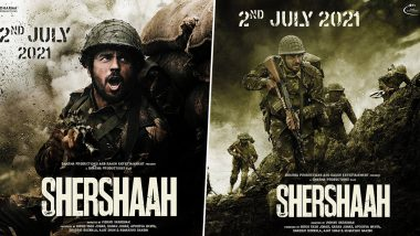 Sidharth Malhotra आणि Kiara Advani चा 'Shershaah' चित्रपट या दिवशी रिलीज होणार; करण जोहरने पोस्टर शेअर करत दिली माहिती