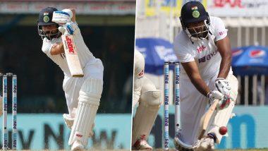 IND vs ENG 2nd Test Day 3: इंग्लंडचे शानदार कमबॅक, पण लंचपर्यंत टीम इंडियाचीदुसऱ्या डावात 351 धावांची आघाडी; विराट-अश्विनवर मदार