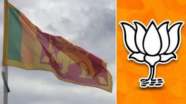 Sri Lanka मध्ये पक्ष स्थापन करण्याचे BJP चे स्वप्न भंगले; श्रीलंकेच्या EC Chief ने ठणकावून सांगितले- 'इथे तुम्हाला प्रवेश नाही'