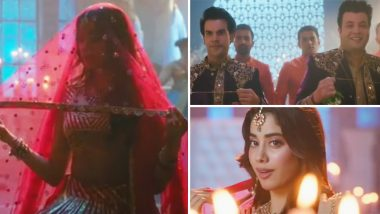 Phangat गाण्याचा टीझर रिलीज; जान्हवी कपूर, राजकुमार राव आणि वरुण शर्मा ने केला जबरदस्त डान्स, पहा व्हिडिओ