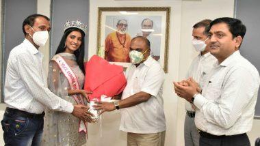 फेमिना मिस इंडिया 2020 स्पर्धेतील उपविजेती Manya Singh चा मंत्री अनिल परब यांच्या हस्ते सत्कार; आर्थिक मदतीसाठी युनियनद्वारे होणार प्रयत्न