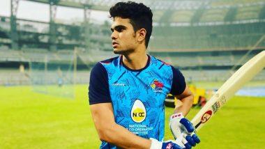 IPL लिलावापूर्वी Arjun Tendulkar याने दाखवला दम; एका ओव्हरमध्ये लगावले 5 षटकार, 31 चेंडूत ठोकल्या 77 धावा