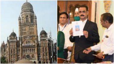 BMC Budget 2021: सहआयुक्त रमेश पवार पाणी समजून सॅनिटायझर प्यायले;  मुंबई महापालिका अर्थसंकल्प सादर करतानाची घटना