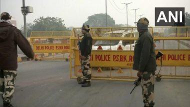 Farmers Protest: युपी, उत्तराखंड आणि दिल्ली वगळता संपूर्ण देशात 3 तास चक्का जाम, पोलिसांकडून कठोर सुरक्षाव्यवस्था तैनात
