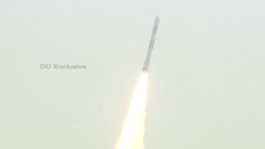 ISRO चे 2021 मधील पहिले अभियान; PSLV-C51/Amazonia-1 सह 18 उपग्रहांचे श्रीहरिकोटा येथून यशस्वी प्रक्षेपण (Watch Video)