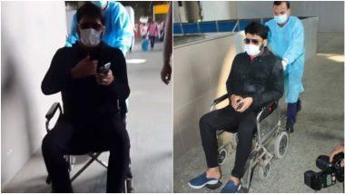 Kapil Sharma याला झालंय तरी काय? व्हीलचेअरमध्ये बसून विमानतळावरुन बाहेर पडताना कॅमेऱ्यात कैद; चाहत्यांनाही बसला धक्का (पाहा Video)