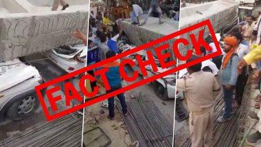 Fact Check: ठाण्यातील Balkum येथे मेट्रो पिलर रस्त्यावरील वाहनांवर कोसळला? जाणून घ्या सोशल मीडियावर व्हायरल होणाऱ्या व्हिडिओमागील सत्य