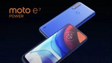Moto E7 Power स्मार्टफोन भारतात 19 फेब्रुवारीला होणार लॉन्च, वेबसाइटवर काही खास फिचर्ससह झाला लिस्ट