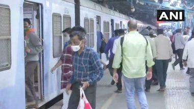Mumbai Local Train Update: मुंबई लोकलने आजपासून सर्वसामान्यांना प्रवास करता येणार, दादर स्थानकात प्रवाशांची दिसली गर्दी