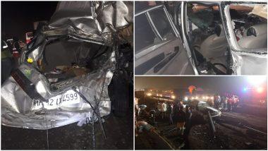 Mumbai-Pune Expressway- मुबंई-पुणे एक्सप्रेस-वेवर अपघात, पाच ठार, पाच जखमी