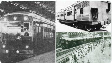मध्य रेल्वेच्या  EMU सेवेला पूर्ण झाली 96 वर्ष; जाणून घ्या VT-Kurla दरम्यान सुरू झालेल्या या सेवेबद्दल खास गोष्टी