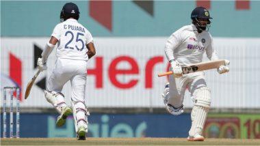 IND vs ENG 1st Test Day 3:रिषभपंत-चेतेश्वर पुजरा यांच्या अर्धशतकाने टीम इंडियाची गाडी रुळावर, दिवसाखेर 257 धावांवर भारताचा अर्धा संघ तंबूत