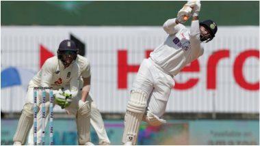 IND vs ENG 1st Test 2021: रिषभ पंतची टेस्टमध्ये T20 स्टाईल बॅटिंग, चेन्नई सामन्यात खेचले 4 तुफानी सिक्स, पहा व्हिडिओ