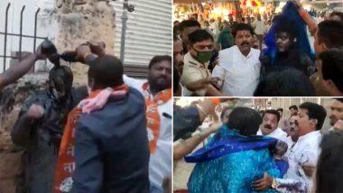 CM Uddhav Thackeray यांच्यावर टीका करणार्या भाजपा कार्यकर्त्याच्या अंगावर शाई ओतणार्या 17 शिवसेना कार्यकर्त्यांना अटक; सोलापूर पोलिसांची कारवाई