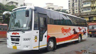 Shivshahi Bus Fire at Satara: सातारा येथे शिवशाही बसला आग, पोलिसांकडून एकाला अटक