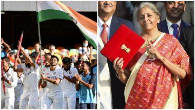 Budget 2021 सत्रादरम्यान Nirmala Sitharaman यांच्याकडून ऑस्ट्रेलियातील ऐतिहासिक विजयासाठी टीम इंडियाचं कौतुक, पहा काय म्हणाल्या अर्थमंत्री